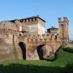 Rocca sforzesca e il borgo di Soncino